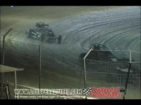 Victorville Raceway Park 11-26-11 - Open 360/410 Sprint Cars