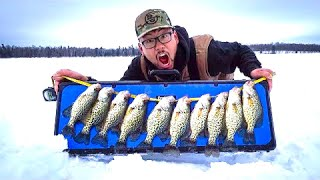 Ice Fishing for Backwoods Crappies CATCH CLEAN COOK