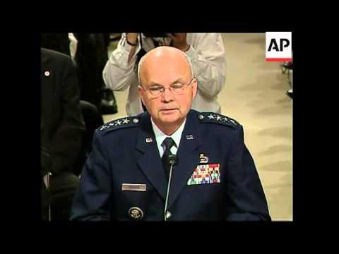 Confirmation hearing for CIA nominee Gen Hayden