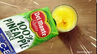 Get 100% Fruitection with Del Monte 100% Pineapple Juice