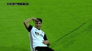Valencia Vs Sevilla 4-0 All Goals & Highlights English Commentary (21/10/2017) HD
