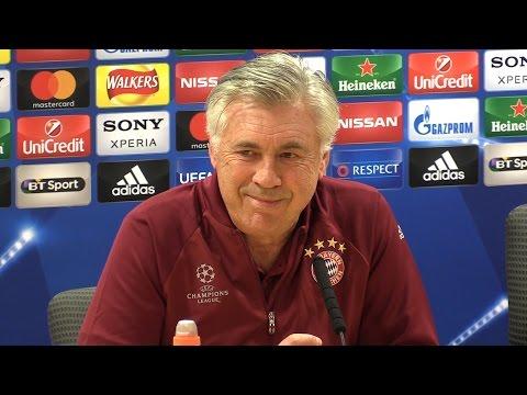 Carlo Ancelotti Full Pre-Match Press Conference - Arsenal v Bayern Munich - Champions League