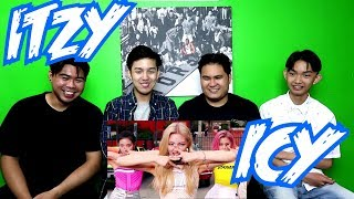 ITZY - ICY MV REACTION (FUNNY FANBOYS)