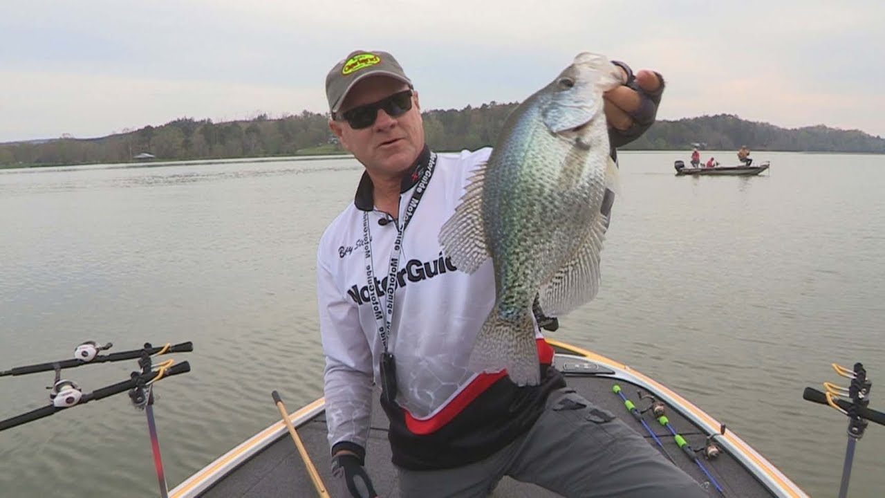 Fox sports outdoors southeast 28 2017 weiss lake for Weiss lake fishing report