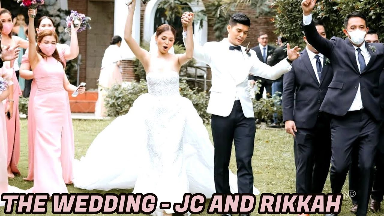 JC DE VERA WEDDING HIGHLIGHTS! Video ng Kasal ni JC De Vera & Rikkah Cruz