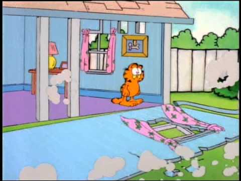 Garfield And Friends Quickie 3 Itsy Bitsy Spider Youtube