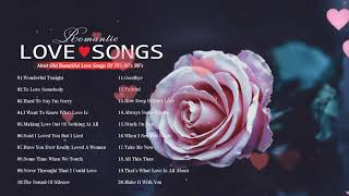 Classic Love Songs 70's 80's 90's 💦 Most Old Beautiful Love Songs 80's 90's