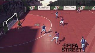Futbol Sala  - La magia del Niupi Street en que partidazo!!! .Fifa Street Online