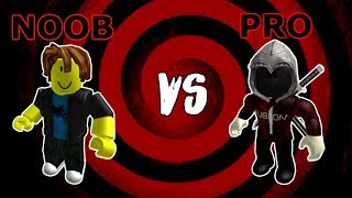 Noob VS Pro (Roblox Assassin Edition)