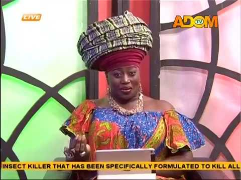 What Celebrities Look Out For In Men - Odo Ahomaso on Adom TV(26-1-17)