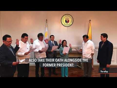 Former president Gloria Arroyo joins PDP-Laban