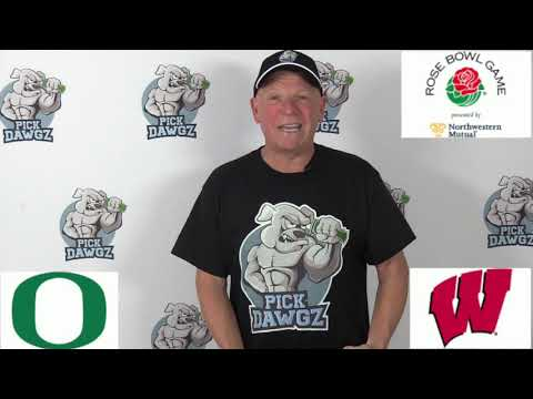 Wisconsin vs Oregon 1/1/20 Free College Football Pick and Prediction: Rose Bowl