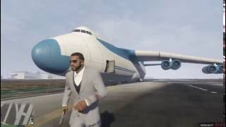 How to get  biggest Cargo plane in GTA 5/ GTA V (NO MODS) !!