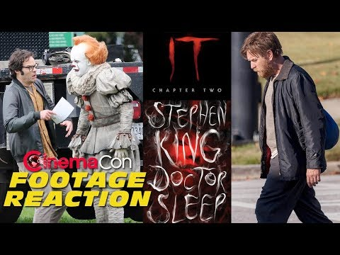 Play IT: Chapter 2 and Doctor Sleep footage reaction - CinemaCon 2019