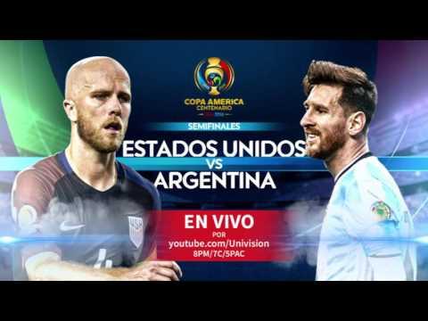 USA vs Argentina en vivo traído a ti gratis por Univision Deportes