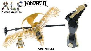 Lego Ninjago 70644 Golden Dragon Master - Lego Speed Build Review