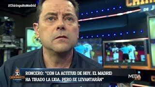 ¡Tomás Roncero 'EXPLOTA'!