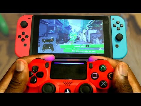 Using a PS4 Controller on a Nintendo Switch! |8Bitdo Wireless Adapter Review+Lag test!
