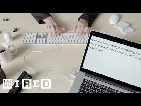 This is FAST: Two-Finger Keyboard Typing | WIRED