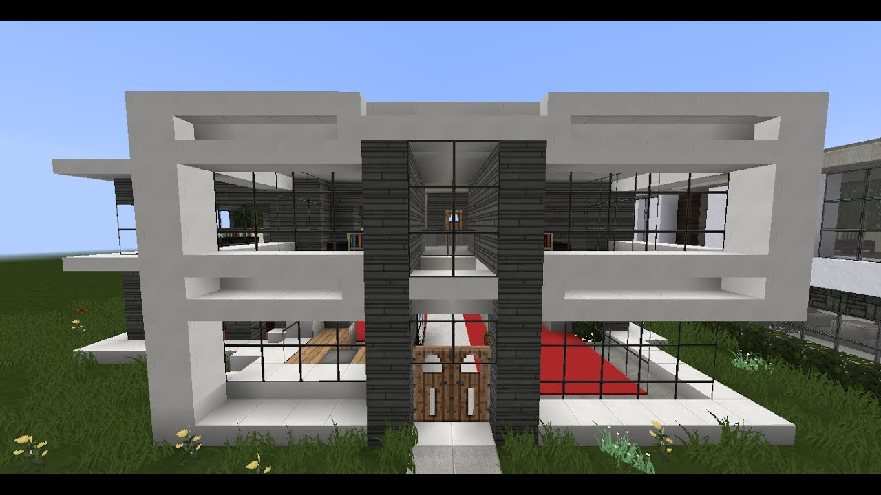 Minecraft Modern House Designs #3 YouTube