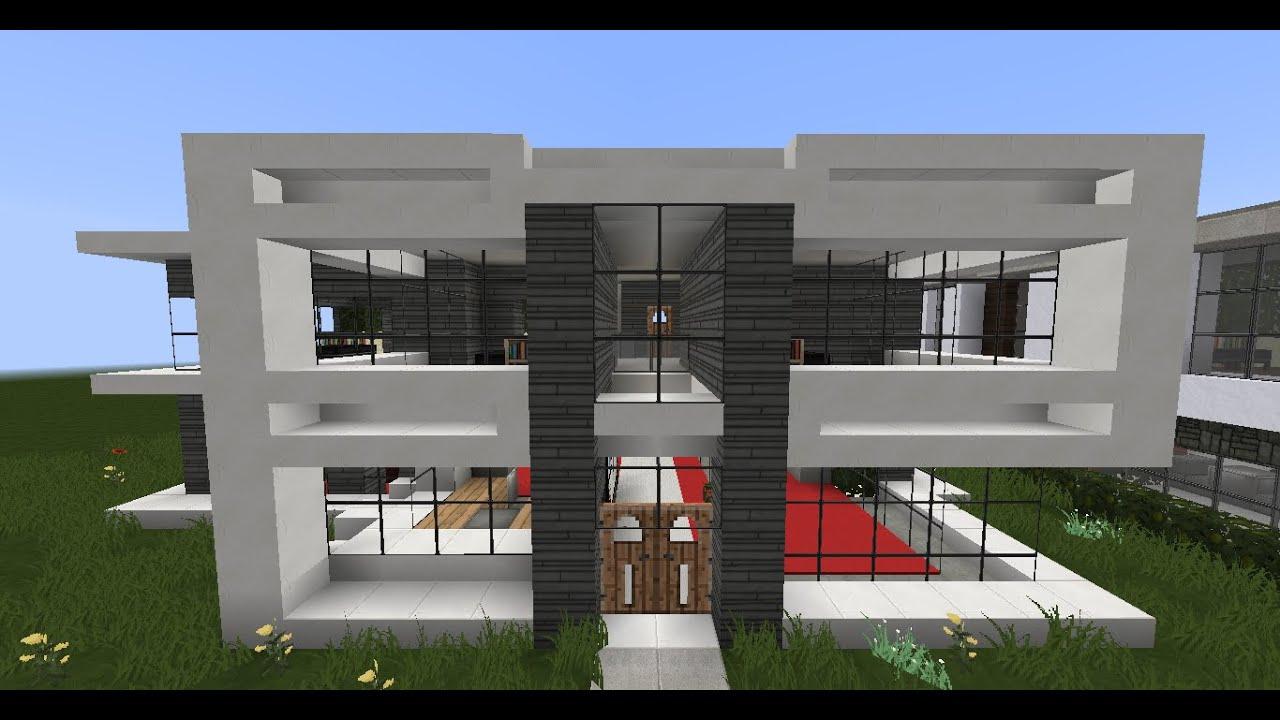Minecraft Modern House Designs #3 - YouTube on Modern House Ideas  id=54594