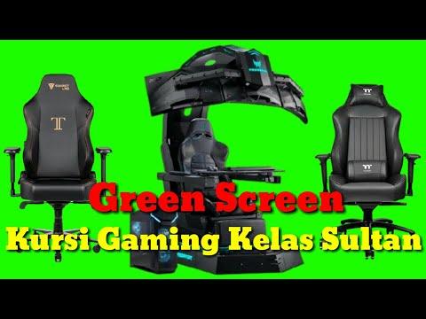 16 Green Screen Kursi Gaming Kelas Sultan HD