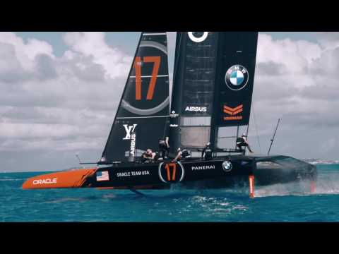 Parker Hannifin Hydraulic Controls with ORACLE TEAM USA