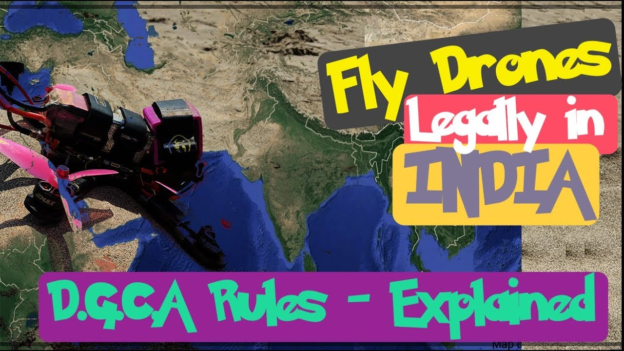 Drones to be finally legalized in India | DGCA Rules-Explained | Digital  Sky | Drone Companies