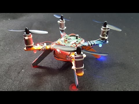 How to make Quadcopter from Popsicle Sticks Simple
