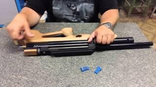 pcp винтовка с передним взводом