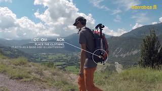 how to prepare and pack a hiking or trekking backpack for 1 day trips