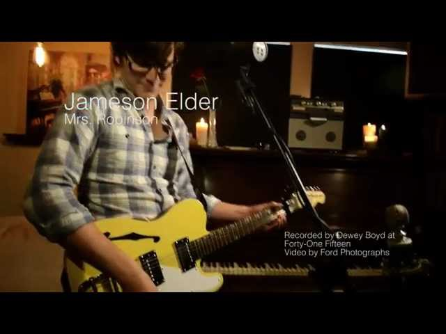 Mrs. Robinson (LIVE In-Studio Cover) - Jameson Elder