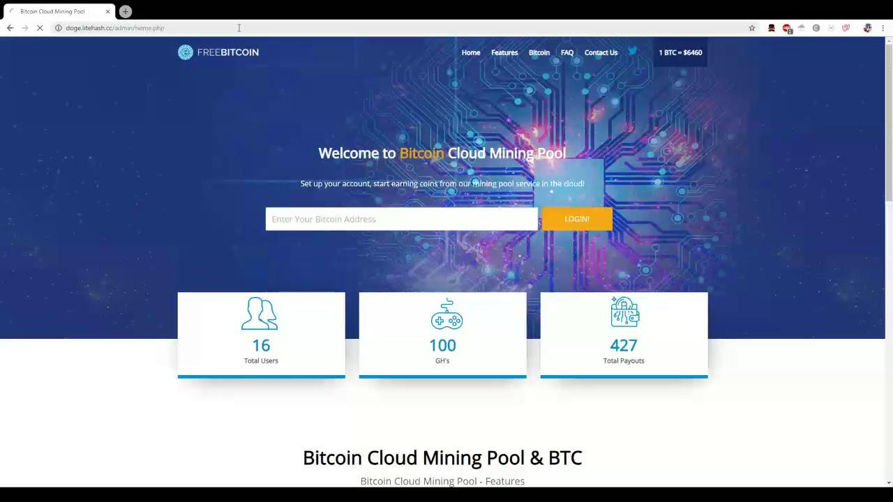 php bitcoin mining