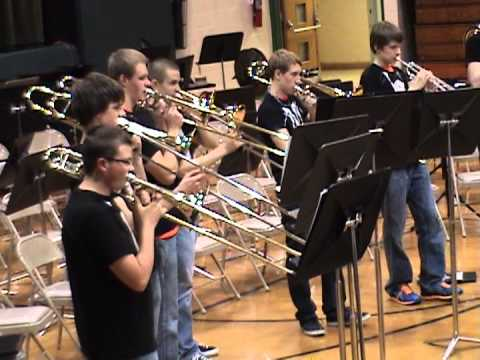 "Illiana Jazz Band ""I Just Haven't Met You Yet"" - Scott Ragsdale, arr."