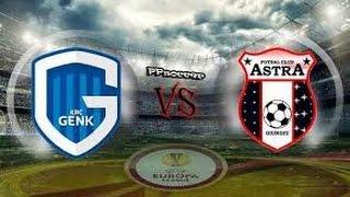 Video Gol Pertandingan Genk vs Astra Giurgiu