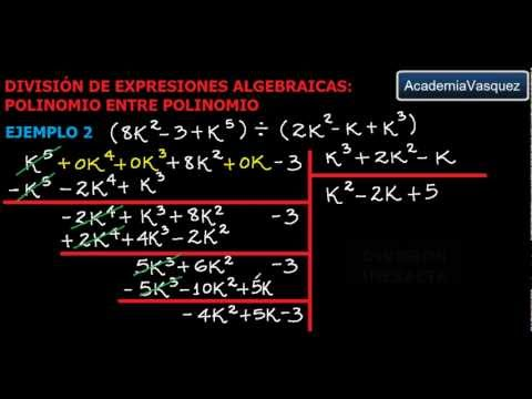 División de Expresiones
