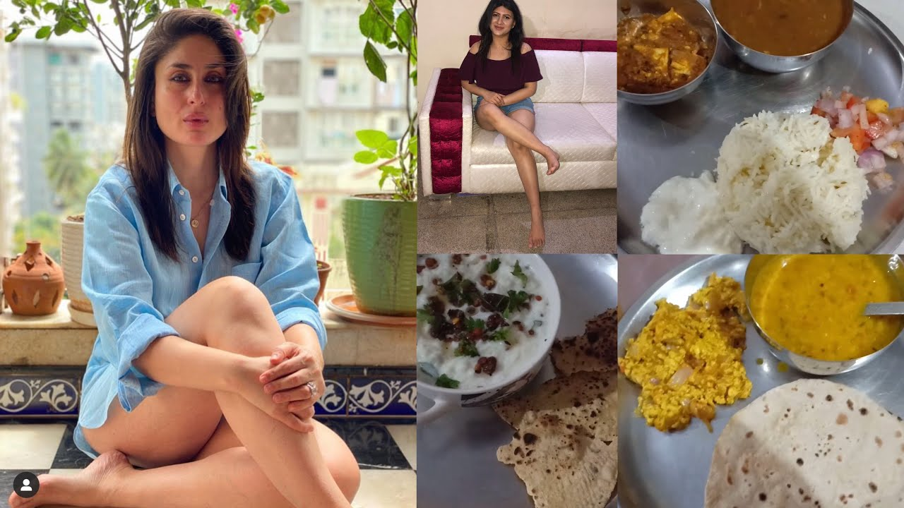 I tried Kareena Kapoor Weight Loss Diet for a Week | Rujuta Diwekar inspired weight loss diet week39