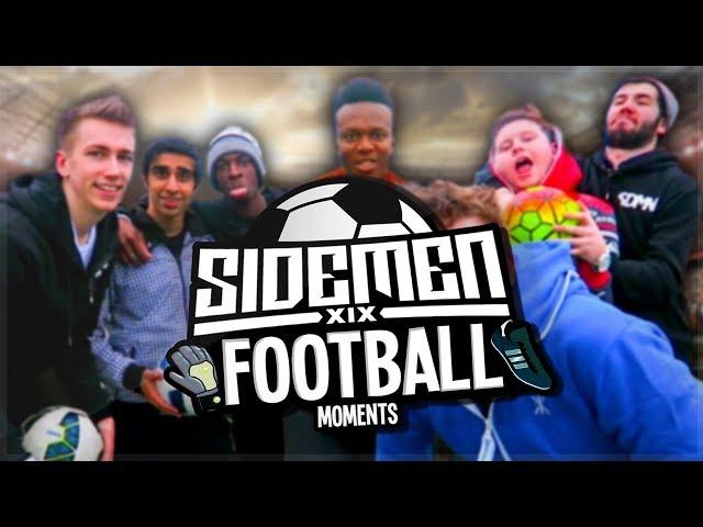 FUNNIEST SIDEMEN FOOTBALL MOMENTS!