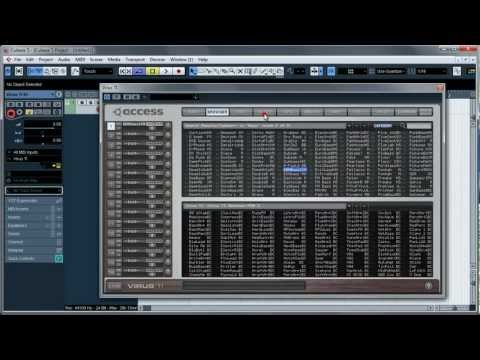 Cubase 5 - VSTi to Audio channel tutorial