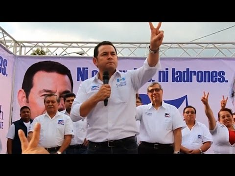 Allan Nairn on Guatemala's Presidential Election