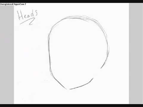 how to draw anime heads youtube