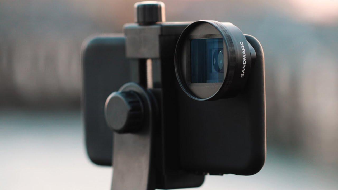 SANDMARC Anamorphic + iPhone — Cinematic 4K — Golden Hour