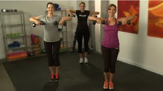 Tone Arms in 10 Minutes, Workout with Holly Perkins, Class FitSugar