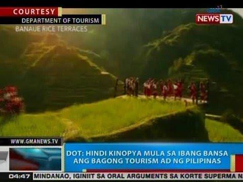 BP: DOT: Hindi kinopya mula sa ibang bansa ang bagong tourism ad ng Pilipinas