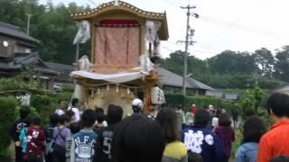 2015年 静岡県湖西市太田地区 秋祭り