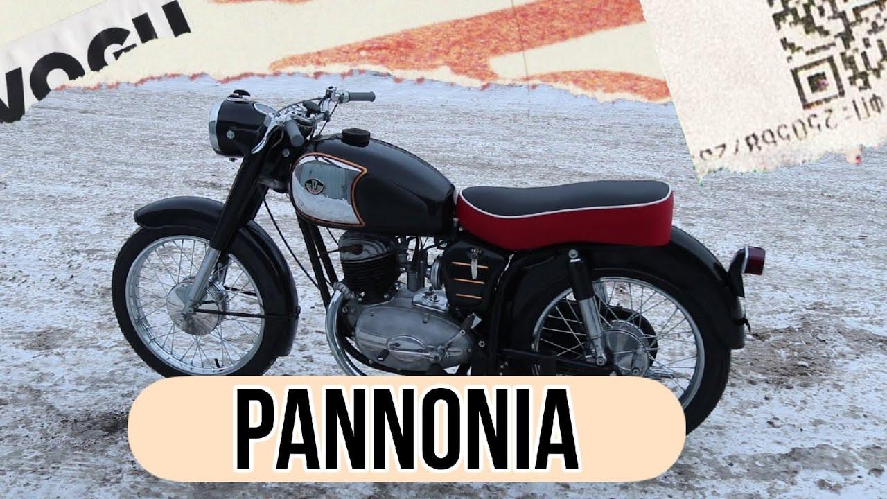Мотоцикл Паннония/Pannonia от мотоателье Ретроцикл