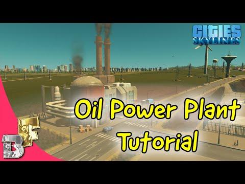 Cities Skylines | Oil Power Plant Tutorial
