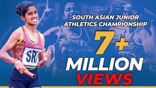 4x400m South Asian Junior Champions | 4x400m දකුණු ආසියානු  කනිෂ්ඨ ශූරීන්