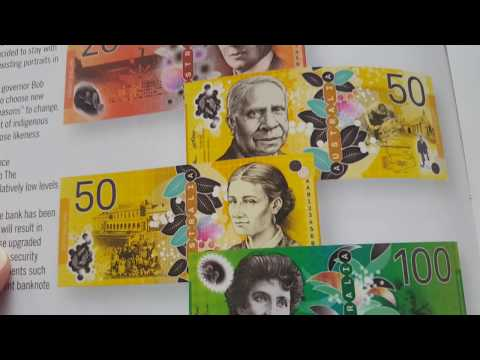 Preliminary Designs For Australian New Banknotes
