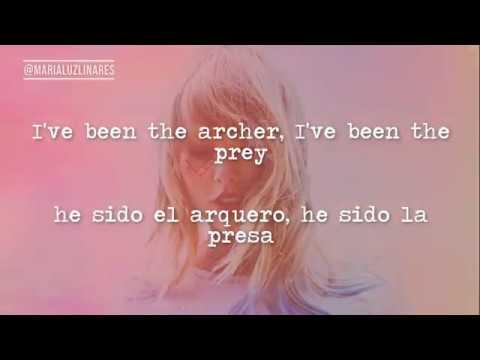 🏹 The Archer - Taylor Swift (lyrics - Español)  🏹